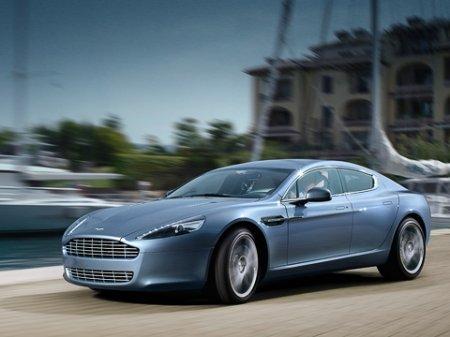 Компания Aston Martin спустила на конкурентов долгожданный Rapide
