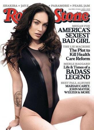 Меган Фокс в 'Rolling Stone' (октябрь, 2009)