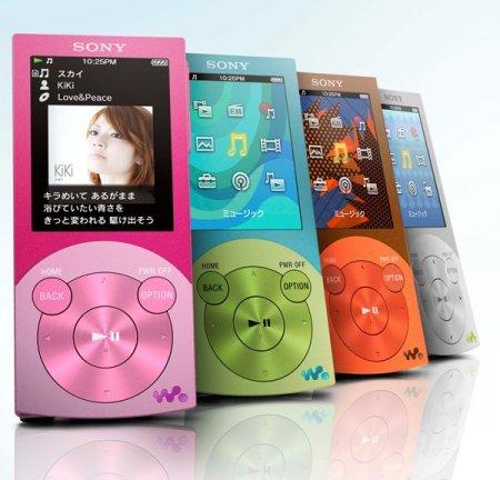 Новые сверхтонкие плееры Walkman A- и S-серии с OLED дисплеями