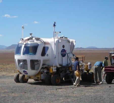 Испытан LER – лунный супервездеход