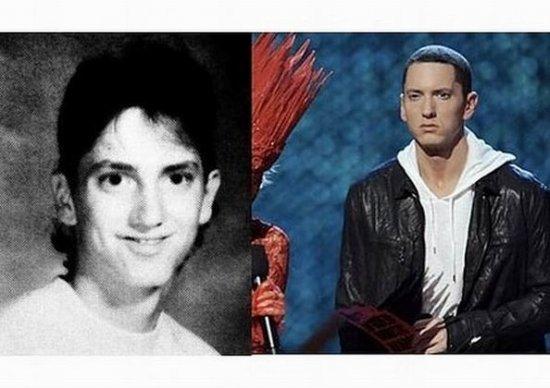 Звезды : в школьные годы и сейчас