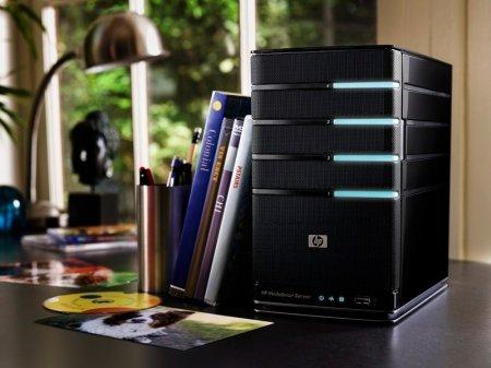 Домашние серверы HP MediaSmart EX490 и EX495