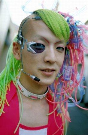 Суровая мода в Японии