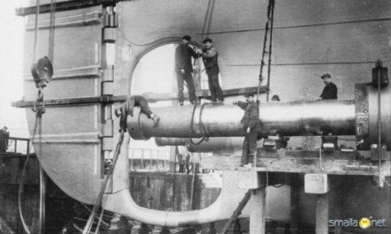 Как строили Титаник