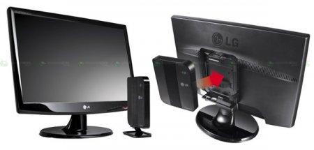 LG XPION X30 - неттоп на базе NVIDIA Ion с креплением к монитору