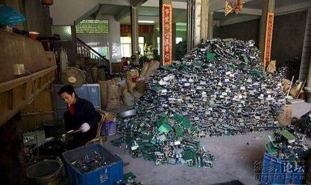 Разбор компьютеров в Китае