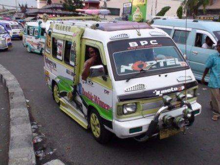 Маршрутки в Индонезии