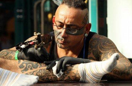 Фестиваль татуировки в Англии