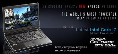 """Sager NP8690 – новый король среди 15,6"""" ноутбуков"""