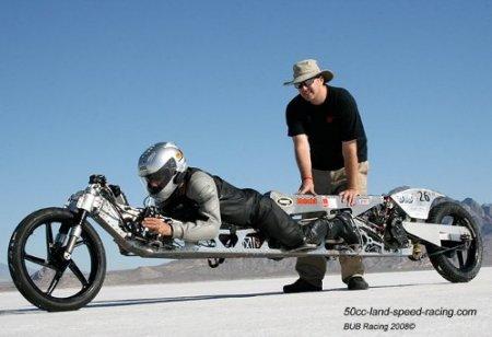 Поставлен новый рекорд скорости для мотоцикла