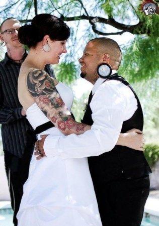 Необычная свадьба