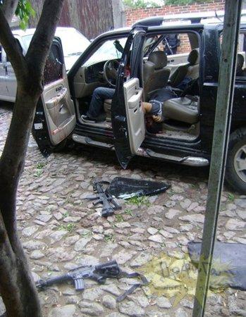 Разборки мексиканских наркокартелей