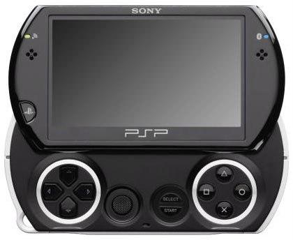 Портативная консоль PSP Go поступила в продажу