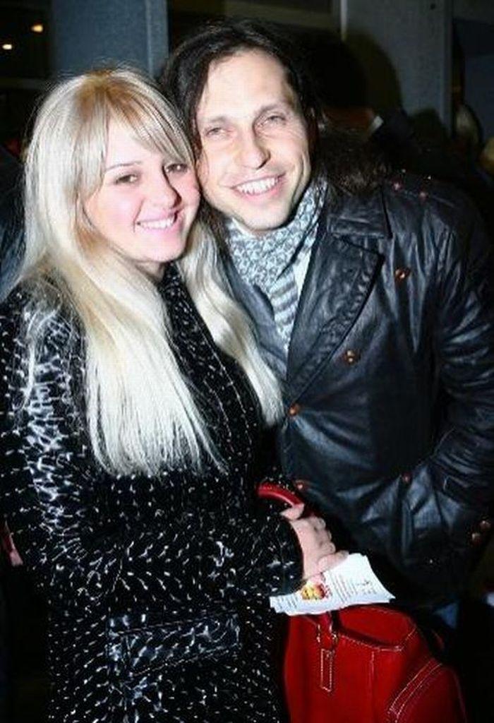 Александр Ревва и его жена Анжела.