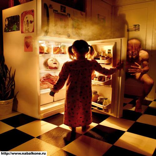 Детские фотострашилки