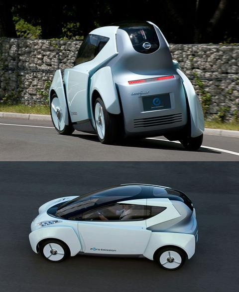 Nissan привезёт в Токио подвижный во всех смыслах электроконцепт
