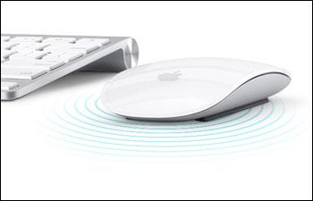 Apple представляет беспроводную мышку Magic Mouse с поддержкой жестов Multi-Touch!