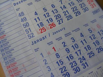 Календарные перипетии