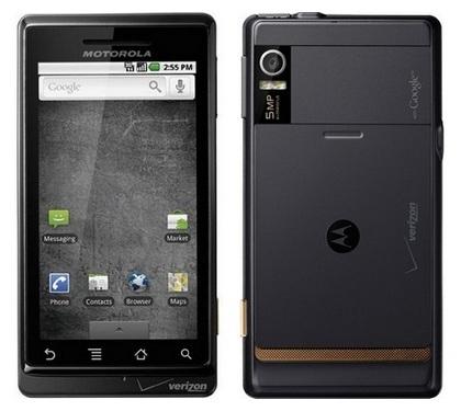 Последний шанс Motorola - смартфон Droid