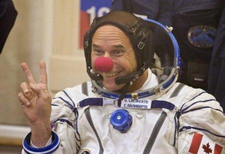 С улыбкой в космос