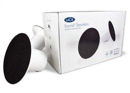 LaCie Sound2 - оригинальные USB-колонки