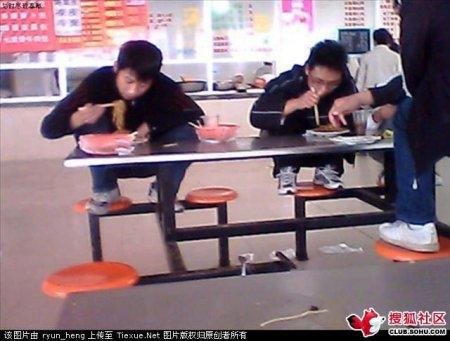 Новая мода в китайских столовках