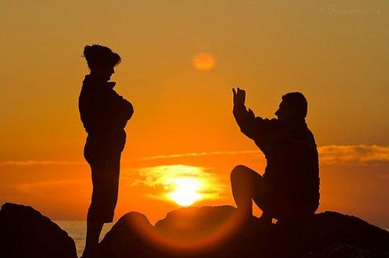 Фотосессия солнца