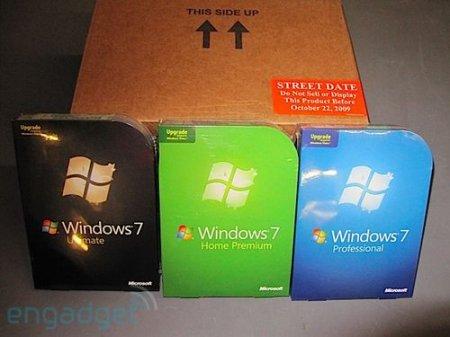 ���������� ������ Windows 7 ��������� � �������� � � ���� �������������