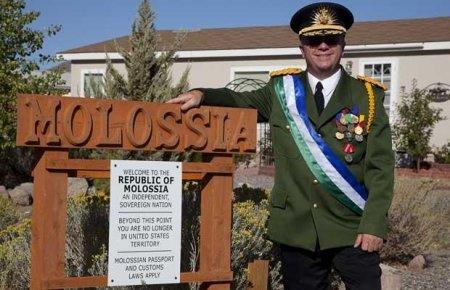 Molossia  - самая маленькая республика в мире