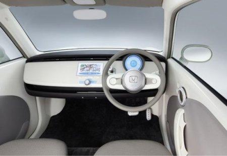 Honda EV-N: концепт городского электромобиля
