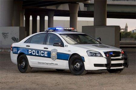 GM переделал Chevrolet Caprice в полицейский автомобиль
