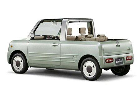 Фирма Daihatsu соединила сити-кар, кабриолет и корзинку