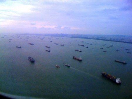 Призрачный флот у берегов Сингапура