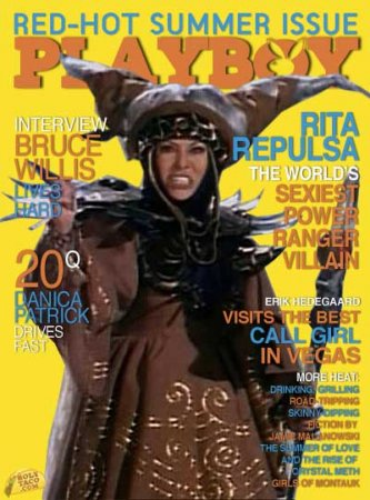 Отвергнутые журналом Playboy мультгерои на обложку
