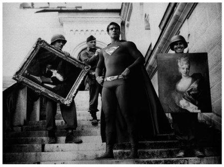 Супер герои на старых фото