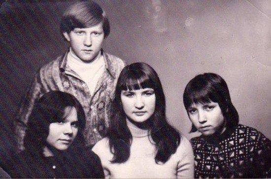 Назад в СССР :  прически 70-х