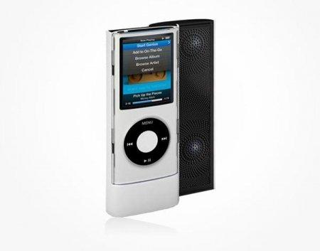 Cлайдер с динамиками для iPod Nano