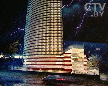 Первый в Беларуси жилой небоскреб будет 32-этажным