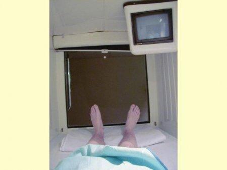 Капсульные гостиницы в Японии