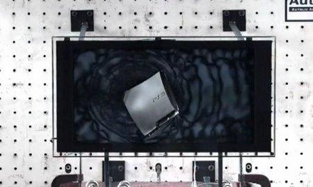 SONY разбивает свои ЖК панели консолями PlayStation3