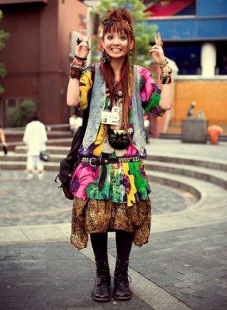 Японцы - маленькие, весёлые со своим необычным стилем