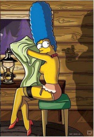 Мардж Симпсон в ноябрьском Playboy