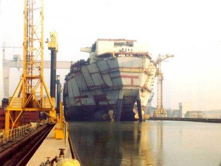Сроительство корабля