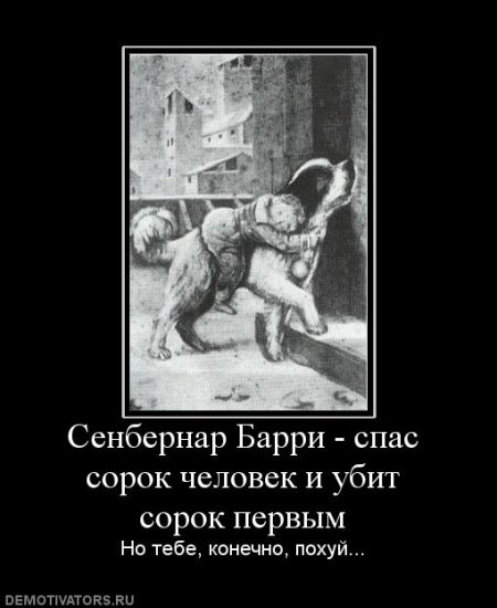 Демотиваторы  ( О собаках )