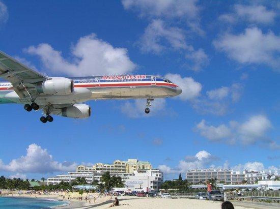 Самолеты над Sunset Beach