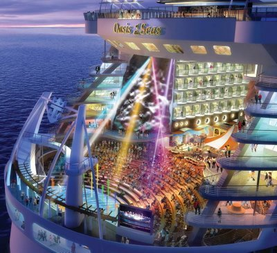 Oasis of the Seas спущен на воду