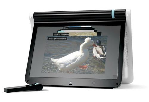 В продаже появился нетбук Webbook с дисплеем на шарнире и ОС Litl