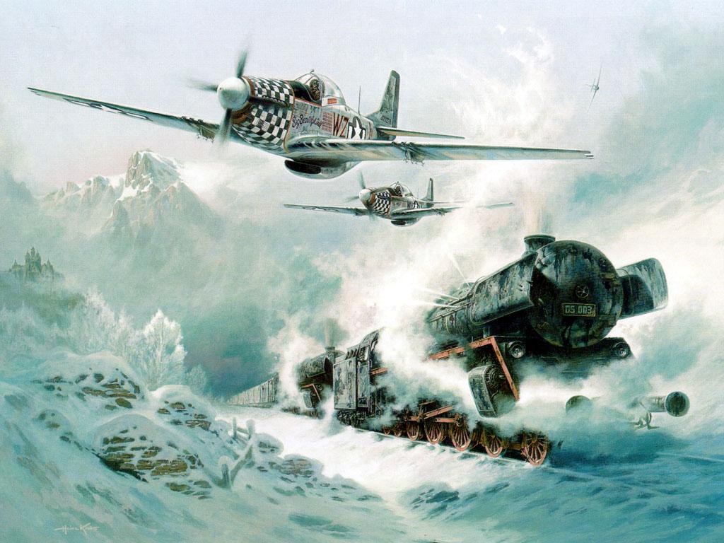 Авиация второй мировой в небе 21 века