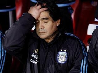 Марадона наговорил на 2 месяца