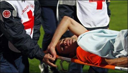 Робин ван Перси получил шокирующую травму и может пропустить остаток сезона